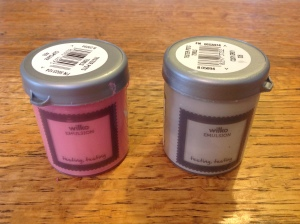 wilkos emulsion cosy grey and cupcake