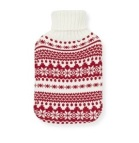 Primark Knitted Fairisle hot water bottle
