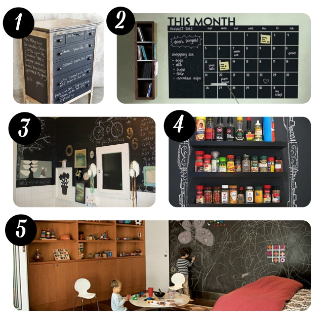 blackboard paint ideas