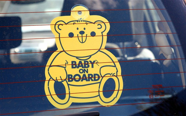 baby on board image
