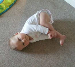 baby rolling