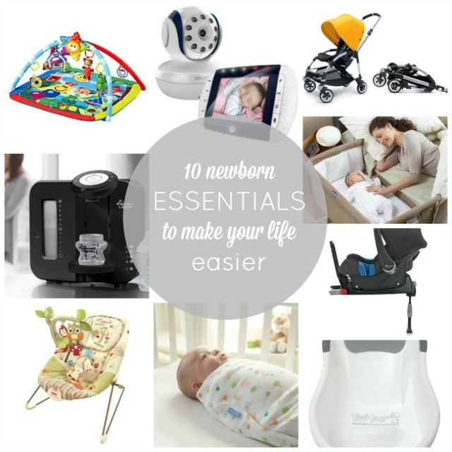 10 newborn products to make your life easier